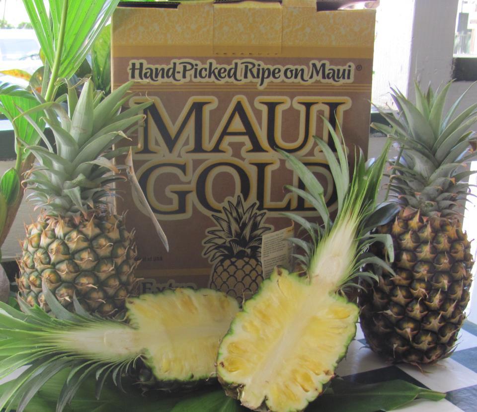 fresh maui pineapple