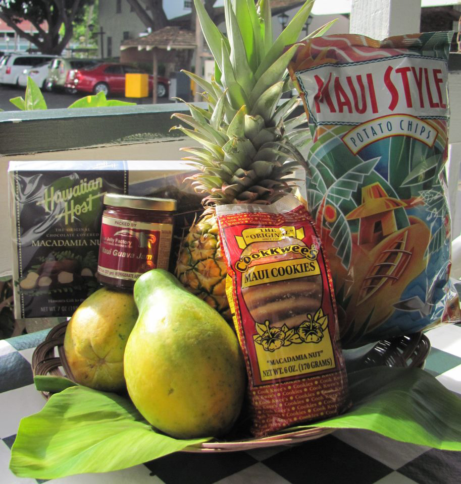 Hawaiian fruit basket