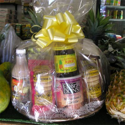 deluxe Hawaii gift basket