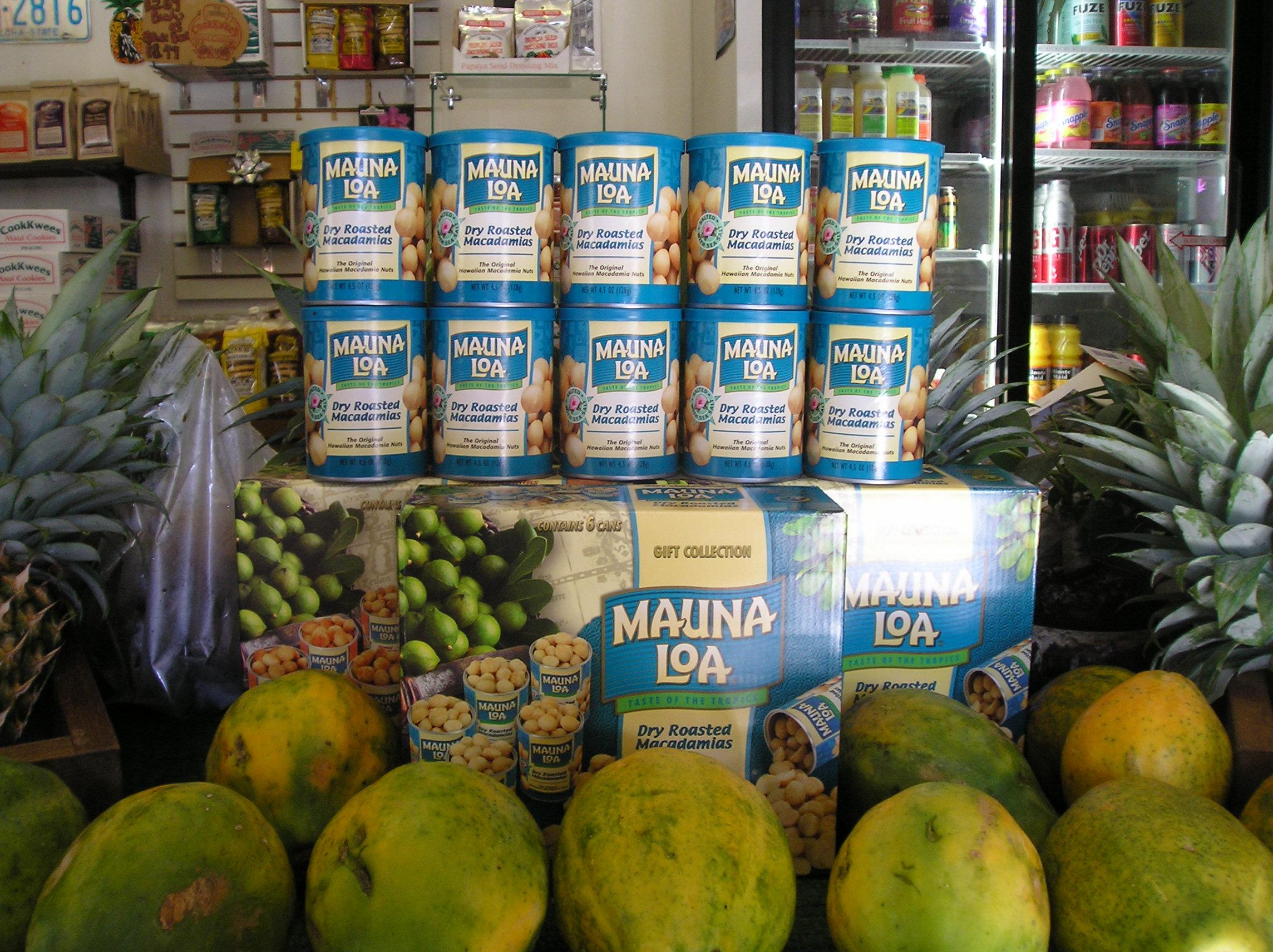 mac nuts - Mauna Loa