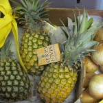 3 Maui Gold Pineapples, and 5 lbs. Sweet Maui Onion